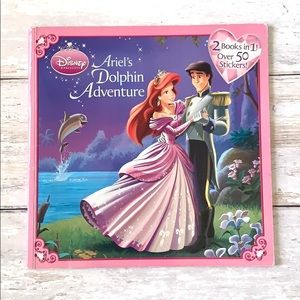 Disney Princess Book 2 in 1 Ariel & Snow White